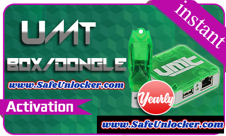 UMT Box/Dongle 1 Year Activation
